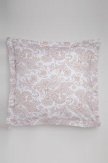250 Thread Count Cotton Flanged Printed European Pillowcase Pair - 209753