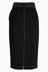 Next Top-Stitch Detail Pencil Skirt