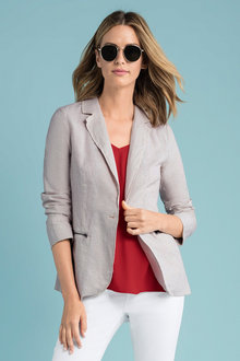Capture Unlined Linen Blazer
