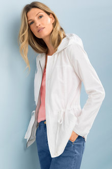 Capture Linen Utility Jacket - 209817