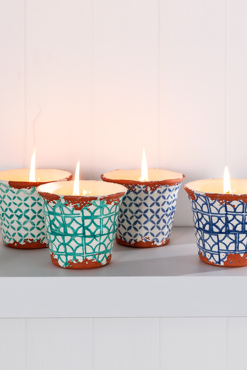 Wax Design Outdoor Citronella Candle