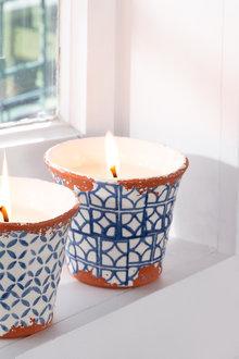 Wax Design Outdoor Citronella Candle