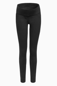 Next Maternity Half Narrow Bump Band Leggings - 209882