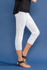 Capture Cotton Sateen Stretch Crop