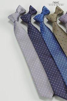 Next Signature Dot Pattern Tie