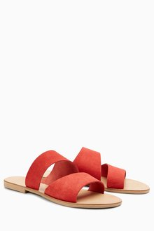 Next Asymmetric Mule Sandals