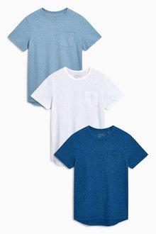 Next T-Shirts Three Pack (3-16yrs)