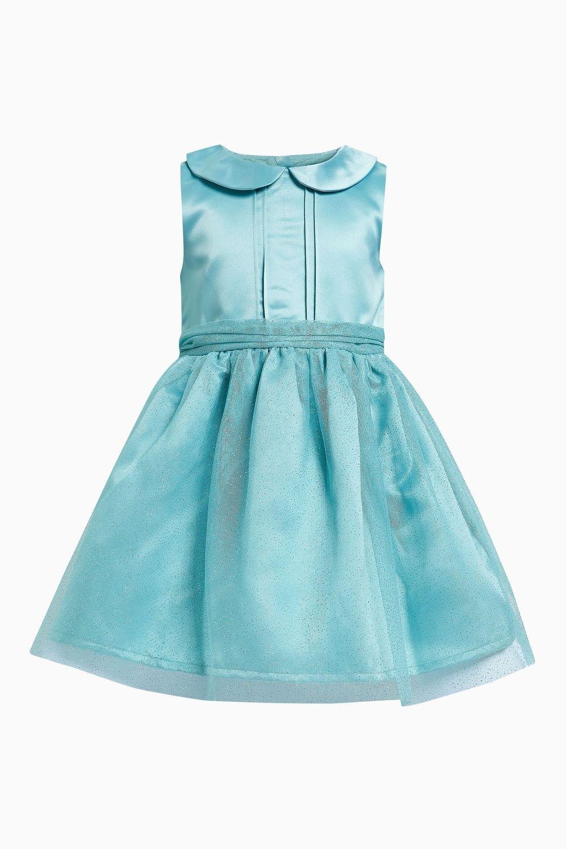 9622a5b5 Next Aqua Sparkle Dress (3mths-6yrs) Online | Shop EziBuy