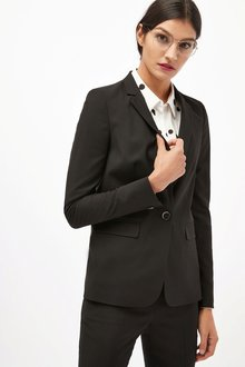 Next Super Slim Single Breasted Jacket - Petite