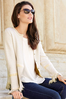 Heine French Style Cardigan - 210053