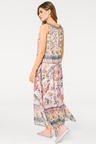 Heine Sequin Neck Printed Maxi Dress