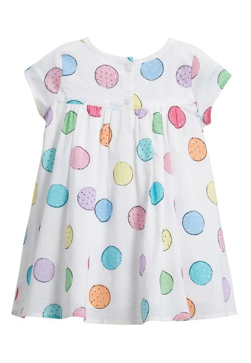 Next Spotty Dress (0mths-2yrs)