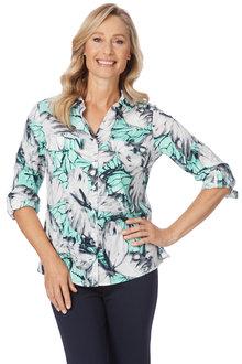 Noni B Annabelle Printed Shirt