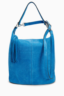 Next Suede Bucket Bag