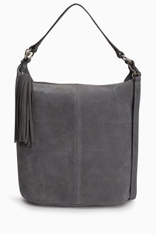 Next Suede Bucket Bag
