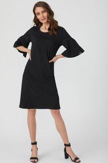 Emerge Bell Sleeve Tee Dress - 210276