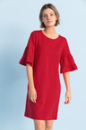 Emerge Bell Sleeve Tee Dress