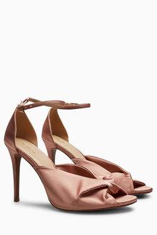 Next Satin Twist Sandals