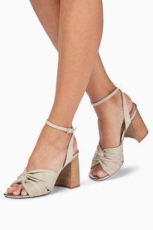Next Twist Block Heel Sandals