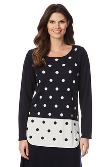 W.Lane Spot Sweater