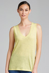 Emerge V Neck Cotton Tank