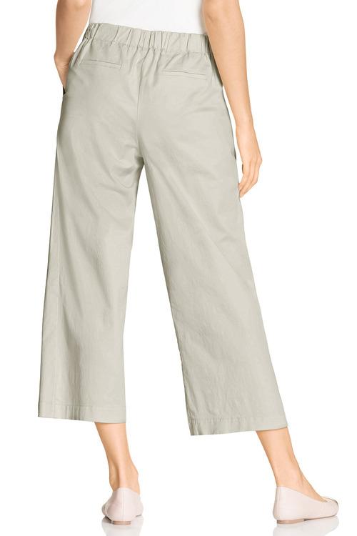 Grace Hill Cotton Blend Crop Pant