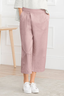 Grace Hill Cotton Blend Crop Pant