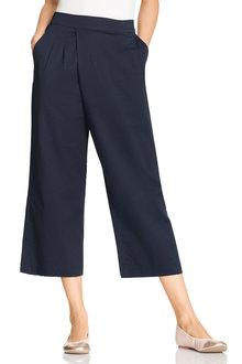 Grace Hill Cotton Blend Crop Pant - 210348