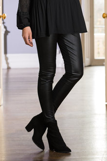 Together Faux Leather Leggings - 210359