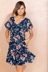Emerge Tier Print Dress