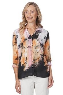 Noni B Swish Printed Shirt