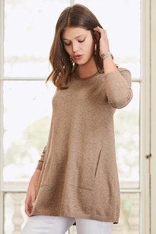 Together Tie Back Sweater