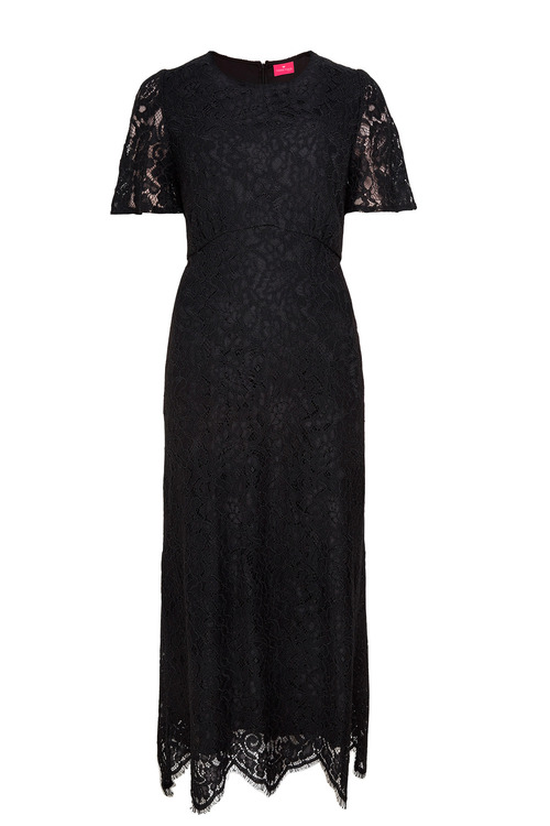 Together Scalloped Lace Dress