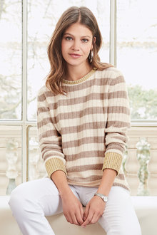 Together Striped Sweater