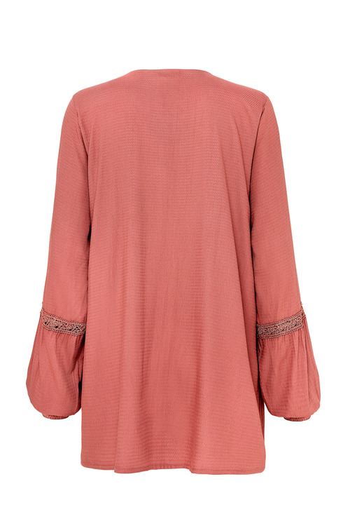 Together Tie Front Blouse