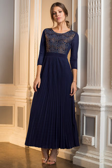 Together Lace Pleated Maxi