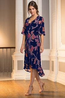 Together Devore Dress - 210408