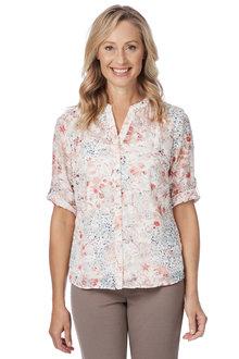Noni B Aurora Printed Shirt - 210433