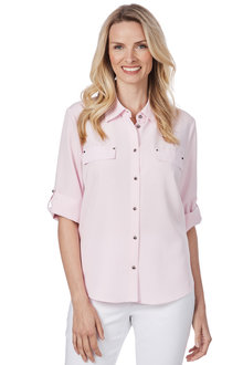 Noni B Pocket Detail Shirt - 210445