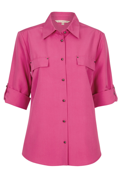 Noni B Pocket Detail Shirt