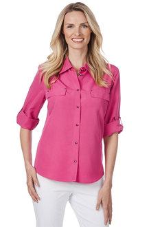 Noni B Pocket Detail Shirt - 210445