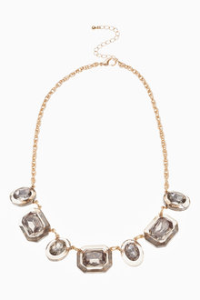 Next Statement Jewel Effect Necklace