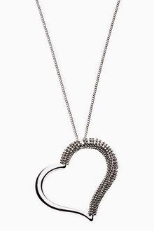 Next Open Heart Pendant Necklace
