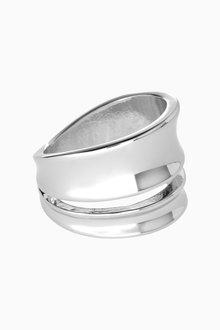 Next Wide Metal Ring