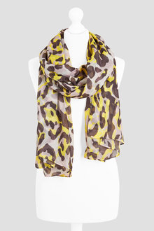 Next Animal Sparkle Print Scarf