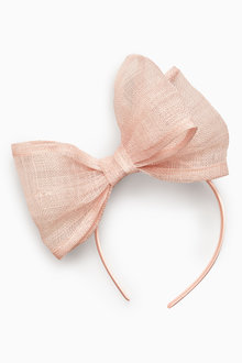 Next Blush Bow Fascinator