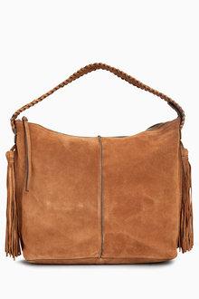Next Suede Whipsch Hobo Bag