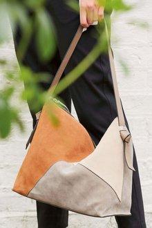Next Leather Hobo Bag