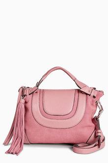 Next Leather Bowler Bag