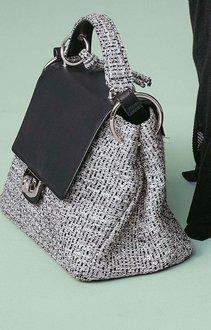 Next Tweed Lock Tote Bag